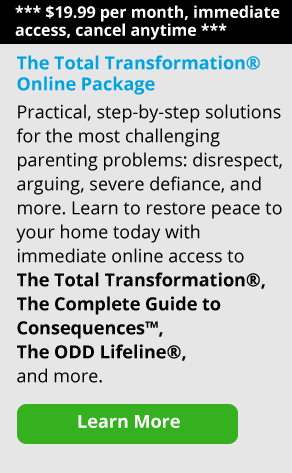 Advertisement for Empowering Parents Total Transformation Deluxe Subscription