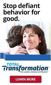 Stop defiant behavior for good. Total Transformation - The James Lehman Approach. Learn More.